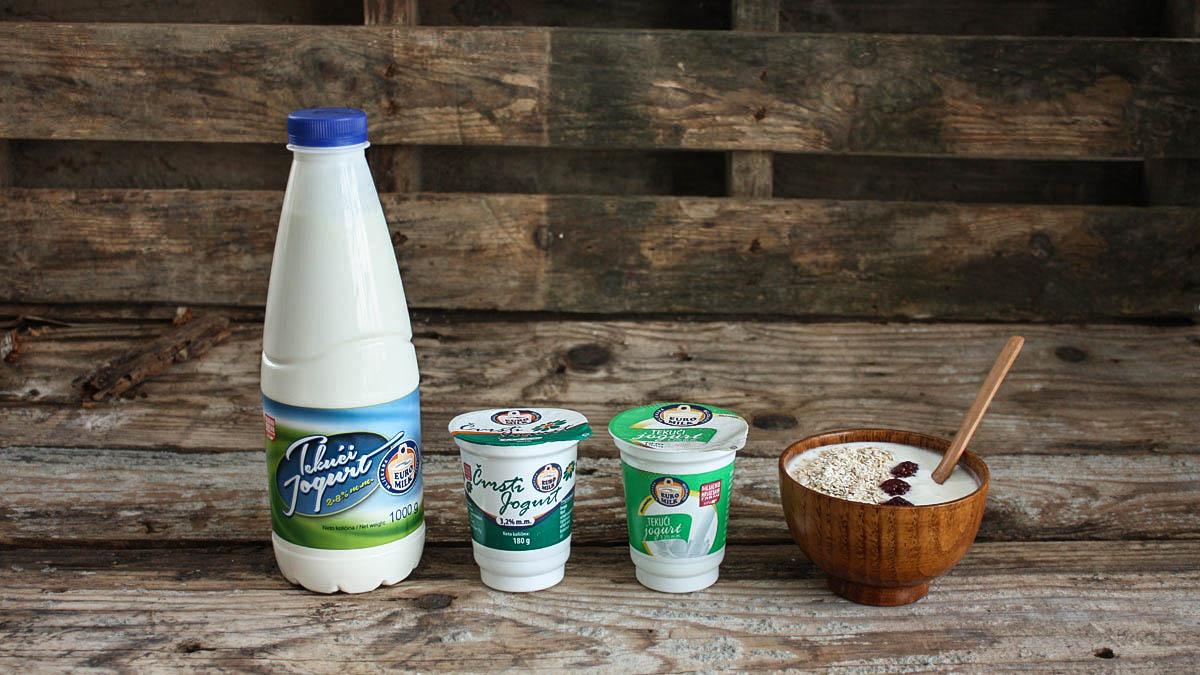 EURO-MILK jogurti